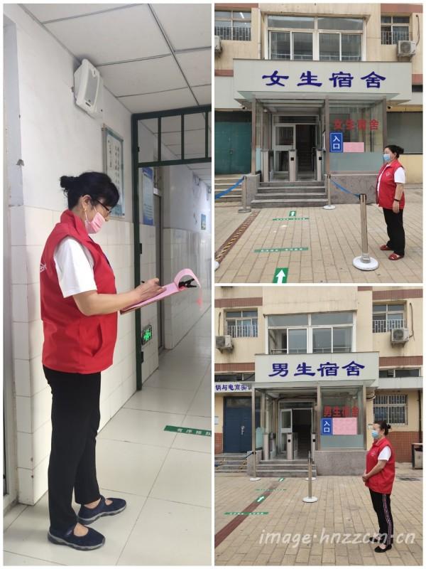 齐步前行,全力备考 --郑州市财贸学校组织对口考生返校集中备考
