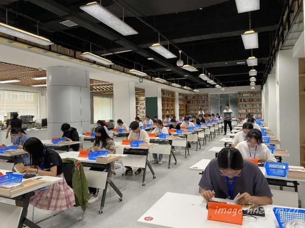 郑州市中等职业学校第二十六届技能大赛财经商贸类竞赛在财贸学校顺利进行